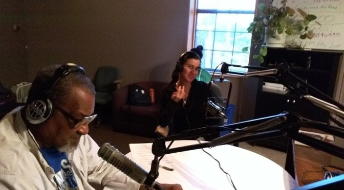 Richard Mabion interviews Diesel Health Project members on KKFI Community Radio