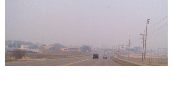 Flint Hills Burns Cause Unhealthy Air in Manhattan KS