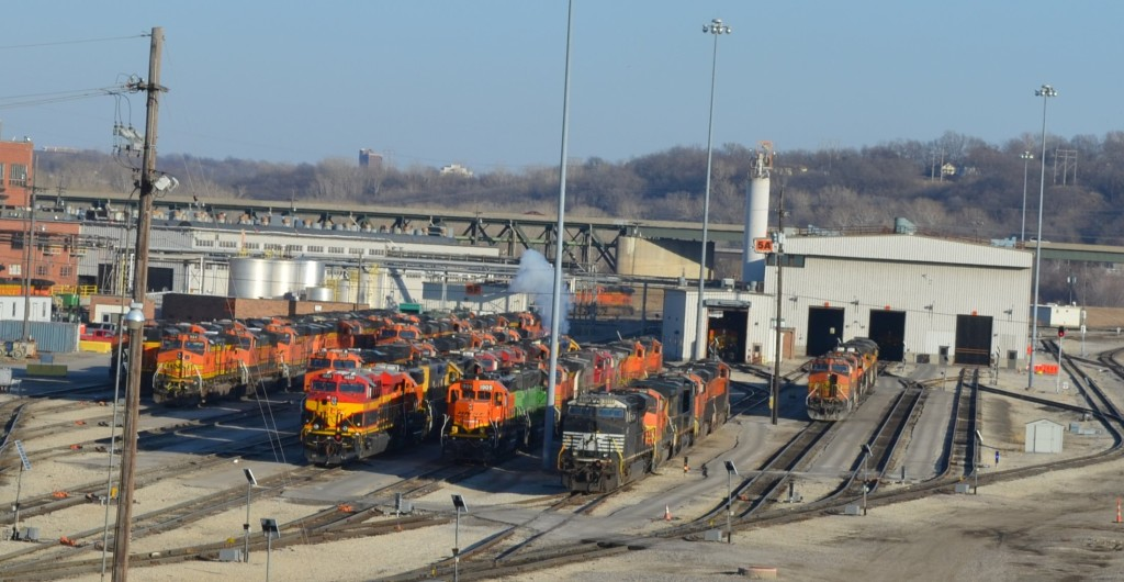 BNSF Argentine Locomotive Maintenance Inspection Terminal